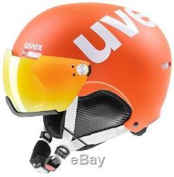 Uvex HLMT 500 Visor orange mat Skihelm Snowboardhelm Visier Tourenhelm