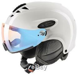 Uvex Helmet 300 Visor Vario Visor White Shiny Helmet Ski Helmet Snowboard Helmet