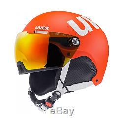 Uvex Helmet 500 Visor Ski Helmet Men's Ladies 52-55 CM