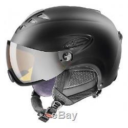 Uvex Hlmt 300 Skihelm Snowboardhelm Wintersport Visier black mat NEUWARE