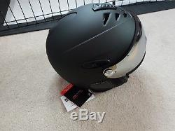 Uvex Hlmt 300 Visor Ski Snow Helmet Black Matte