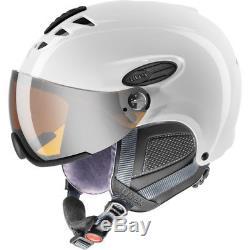 Uvex Hlmt 300 Visor White Skihelm Mat 57-59 CM Visierhelm Ski Helm Weiss Neuware