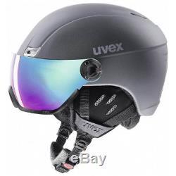 Uvex Hlmt 400 Visor Style Titanium Mat Skihelm 53-58cm 58-61cm