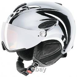 Uvex Skihelm hlmt 300 visor chrome chrome