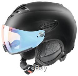 Uvex hlmt 300 visor black mat vario ltm blue Skihelm Snowboardhelm Helm 18/19