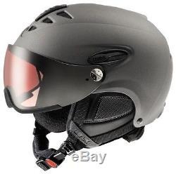 Uvex hlmt 300 visor pola gun met mat pola Skihelm Snowboard Visier Helm 16/17