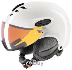 Uvex hlmt 300 visor white shiny Skihelm Snowboardhelm gold Snowboard Helm 16/17