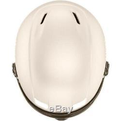 Uvex hlmt 400 visor style Skihelm Snowboardhelm mit Visier prosecco met mat NEU