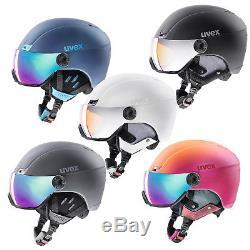 Uvex hlmt 400 visor style Skihelm mit Visier