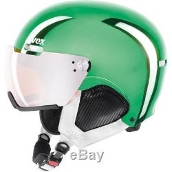 Uvex hlmt 500 visor chrome LTD Skihelm für Erwachsene (S566212)