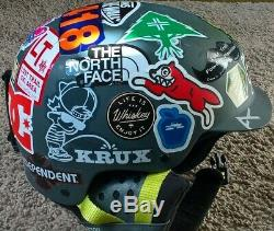 X Games Supreme Simpsons Burton Anon Blitz Snowboard Skate Helmet Size Small