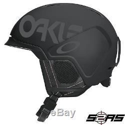 2018 Oakley Mod 3 Snow Helmet (usine Pilote Blackout)