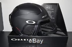 2018 Oakley Mod 5 Casque De Neige Matte Black. Moyen. Casque Oakley Mod5