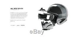 2019 Ruroc Rg1-dx Chrome Casque Fit XL / XXL 60-64 CM