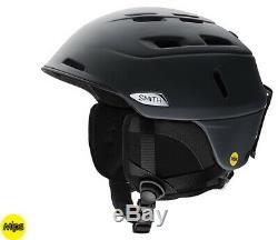 2020 Smith Optics Camber Noir Mips Ski Snowboard Casque Large (59-63cm)