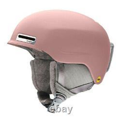 2021 Smith Optics Allure Mips Rock Salt Womens Snow Helmet New Small