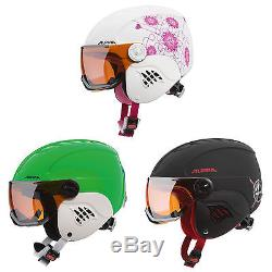 Alpina Carat Visor Kinder-snowboardhelm Skihelm Casque Ski Snowboard Mit Visier