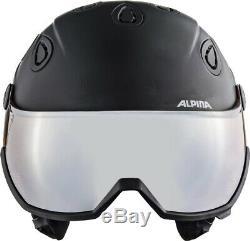 Alpina Grap Visière 2,0 Hm Skihelm Snowboardhelm Noir Mat