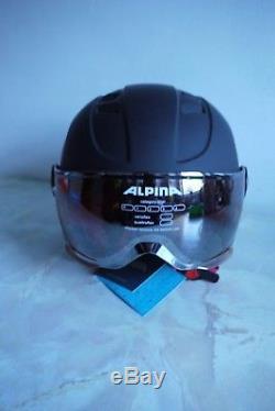 Alpina Ski Casque Enfants Carat Le Visor Hm Taille 51 55cm