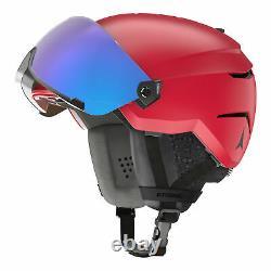 Atomic Savour Visor Stereo 20/21 Herren Skihelm Visierhelm Alpin Helmset Neu Rouge