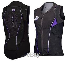 Body Gants Rückenprotektor Rückenprotektorweste Power Pro Level 2 Gilet Femme