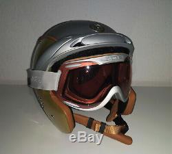 Bogner Casque De Ski Skihelm Größe L / XL Aussteller Inkl. Helmcase