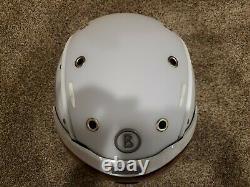 Bogner Ski Helmet B-visor Flames White M (54-58cm)