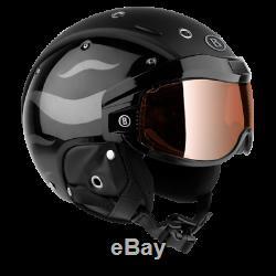 Bogner Ski-barre B-visor Black Flames