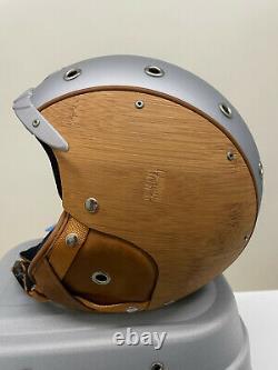 Bogner Skihelm Bamboo Argent Gr. S Neu Uvp 599