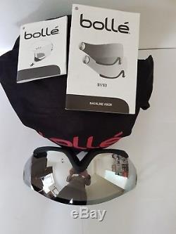 Bolle Backline Visière Casque De Ski Premium Soft White 56 À 58 Petit À Moyen