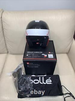 Bolle Medalist Carbon Pro Snowboard Ski Helmet L/xl 57-60cm Poids 540+ /-50