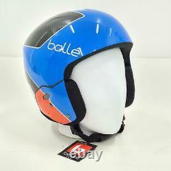 Bollé Skihelm Médaillé, Fis Rennhelm, Race Bleu Brillant, XL 57-60 CM Top