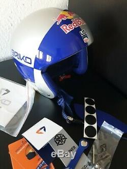 Briko Red Bull Skihelm Vulcano Casque Vonn Limited Edition Lindsey Taille 64 Neu