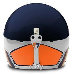 Briko Vulcano Fis 6.8 Casque De Ski Blue Sky Blanc