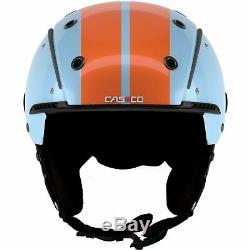 Casco Skihelm Sp-3 Rétro-bleu-orange Concurrence