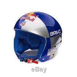 Casque De Course Briko Vulcano Red Bull Lindsay Vonn Edition (56cm)