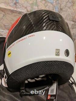 Casque De Course De Ski Bollé Médaillé Carbon Pro Mips (l/xl 57-60cm) Prix De Vente Conseillé 380 £