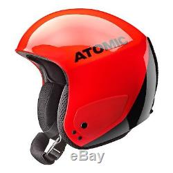 Casque De Ski Atomic Racing Rouge / Noir Moyen