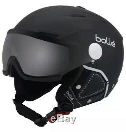 Casque De Ski Bollé Backline Visor Taille (59-61cm) Souple Noir Et Blanc