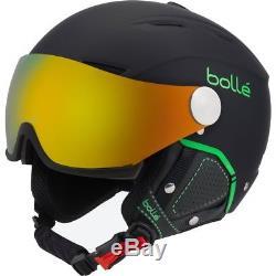 Casque De Ski Bolle Skihelm Visière De Fond Premium II Schwarz-grün # 1604