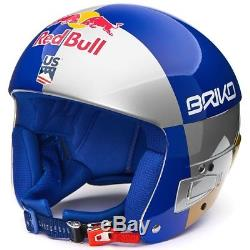 Casque De Ski Briko Skihelm Vulcano Fis 6.8 Fondation Red Bull Et Lindsey Vonn # 726