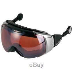 Casque De Ski Casco Skibrille Fx-70l Vautron Schwarz # 0572 Casque De Ski