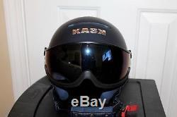 Casque De Ski Et De Snowboard Kask Class Shadow Avec Visière Medium 58 Italie Pdsf 599 $