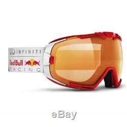 Casque De Ski Infiniti Red Bull Racing Skibrille Rascasse 007 Rouge Métallisé # 1280 Ski