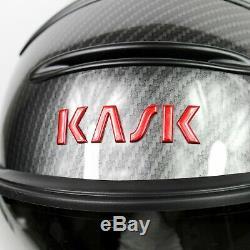 Casque De Ski Kask Elite Pro Carbon Red Photochromic She00020.271 Taille 58 M