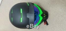 Casque De Ski Rg1-x Viper Snowboard Avec Haut-parleurs Bluetooth Et Micro + Lentille Basse Lumière