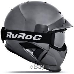 Casque De Ski Ruroc Rg1-dx Édition Limitée Shadow Chrome # 3704