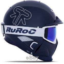 Casque De Ski Ruroc Rg1-dx Édition Limitée Tbc Blau Weiß # 0844
