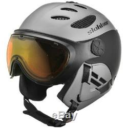 Casque De Ski Slokker Skihelm Slk II Balo Grau # 3162 Casque De Ski