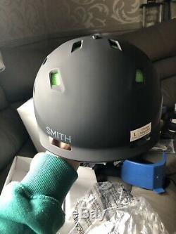 Casque De Ski Smith Quantum Mips Adulte Grand 59-63cm Bnib Safety Protection